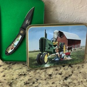 NIB John Deere collector's knife